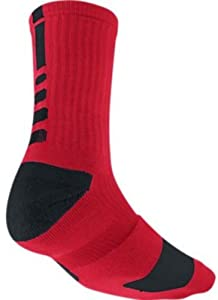 Buy Nike Elite Mens Cushioned Crew Sock Dri-Fit Basketball by Nike