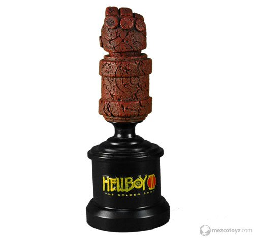 Picture of Mezco Hellboy 2 The Golden Army Roto Bust Hand Of Doom Figure (B001BL13SK) (Mezco Action Figures)