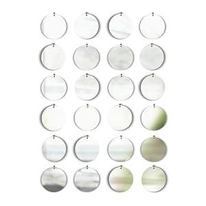 Amazon.com - Umbra Pixical Mirrored Wall Decor, Set of 24
