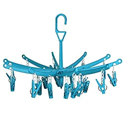 24 Plastic Pegs Clip Hanger (Colors may vary)