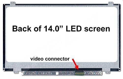 HP Chromebook 14-X010NR and 14-X010WM New Replacement LCD Screen for Laptop LED HD Glossy