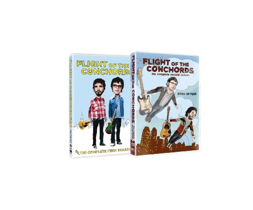 Flight of the Conchords: Comp First & Second Seas [Reino Unido] [DVD]