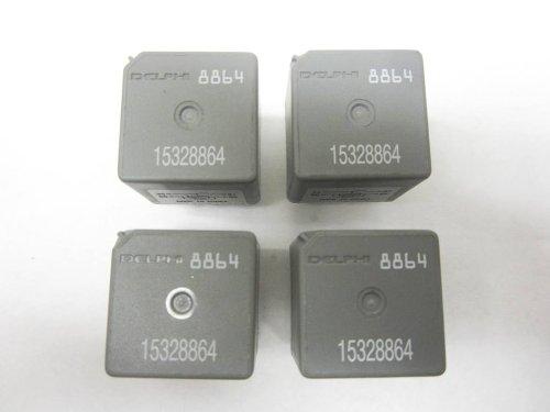 genuine gm delphi pin fuse box relay set of genuine gm delphi 4 pin fuse box relay 15328864 8864 set of 4