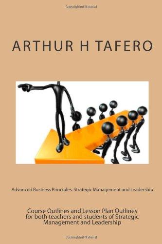 Advanced Business Principles: Strategic Management