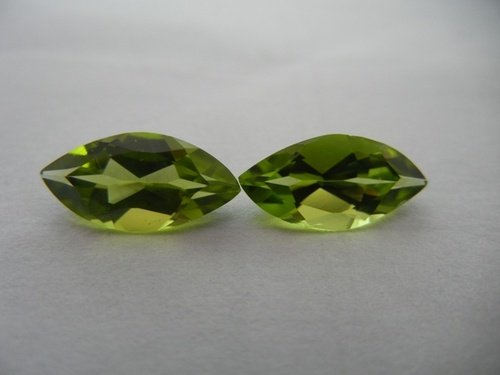 Natural Peridot Aaa Quality Loose Gemstone 6X3 Mm Faceted Marquise 10 Pieces Lot front-741325