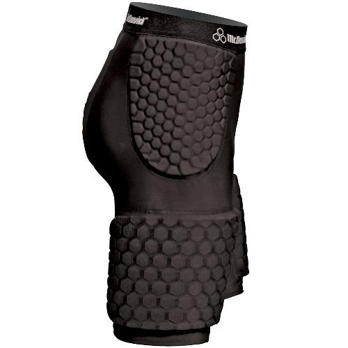 McDavid Dual Density Hex-Pad Extended Thudd, Black, Large