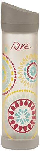 Rive Savoy Glass Water Bottle, 22-Ounce, Kaleidoscope front-1000974