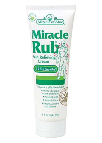 Miracle Rub Pain Relieving Cream 8 Oz Miracle Pain Relieving Cream Penetrates Deep and Provides Soothing Pain Relief Quick! Fast Acting Ingredients Provide Relief of Minor Muscular Aches and Pains, Painful Joints, Arthritis Pain, Strains, Sprains and Bruises (Erythromycin Cream compare prices)