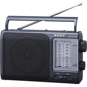 SONY FM/AMポータブルラジオ ICF-801