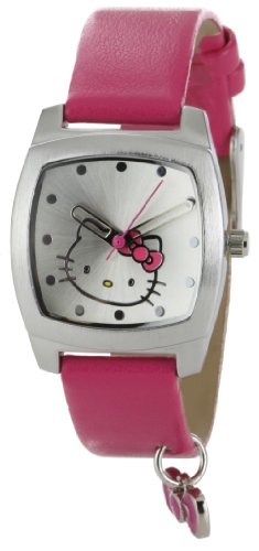 Hello Kitty Women's H3WL1005PK Silver Dial Watch