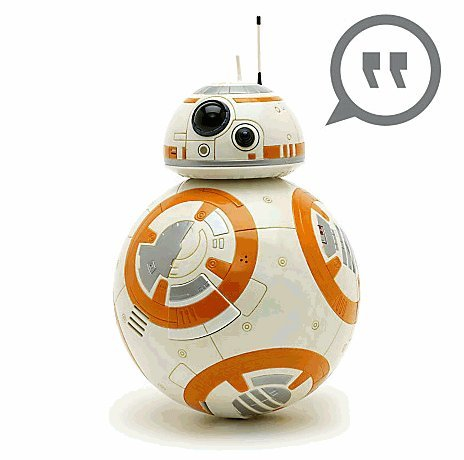 BB-8 トーキングフィギア 24cm スターウォーズ フォースの覚醒 BB-8 Talking Figure - 9 1/2'' - Star Wars [並行輸入品]
