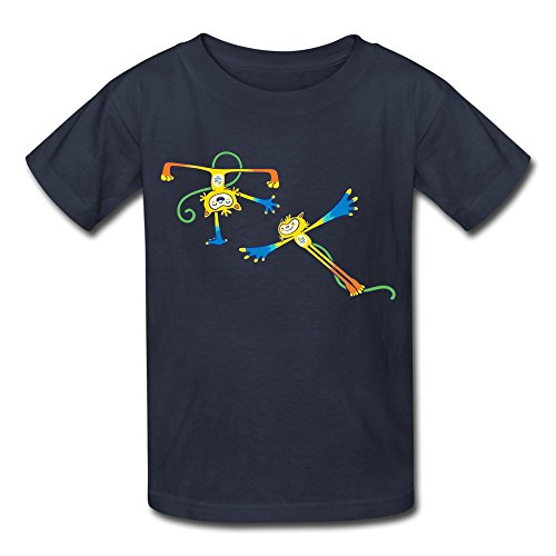 Youth T Shirt 2016 Brazil Rio Olympic Games Vinicuis Navy Size S (Cell Phone Daewoo compare prices)