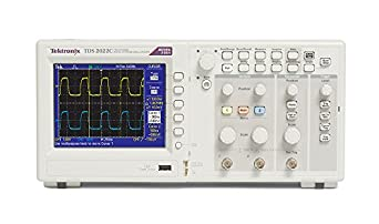Tektronix TDS2022C 200 MHz, 2 Analog Channel Oscilloscope, 2 GS/s Sampling, Lifetime Warranty