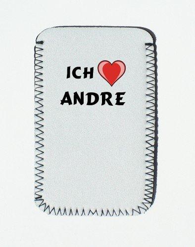iPhone Case mit Ich liebe Andre - Individualer iPhone Halter (Vorname/Zuname/Spitzname)