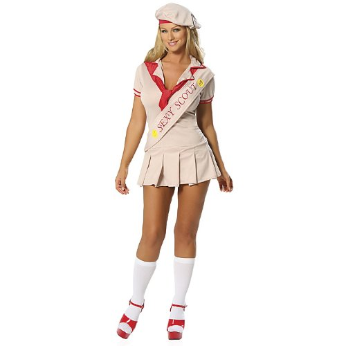 Sexy Cookie Girl Adult Scout Costume