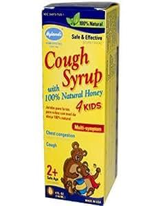 Cough Syrup W/ Honey 4 Kids Hylands 4 oz Liquid