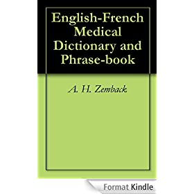 English-French Medical Dictionary and Phrase-book