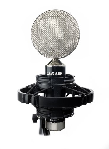 Cascade Microphones Fat Head Ii (Cinemag) - Black/Silver