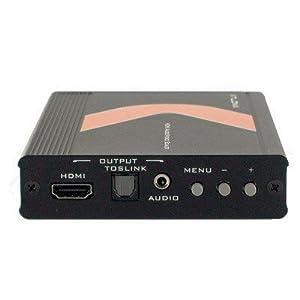 Atlona PAL HDMI to NTSC HDMI + Digital/Analog Audio Video Converter & 1080p Scaler