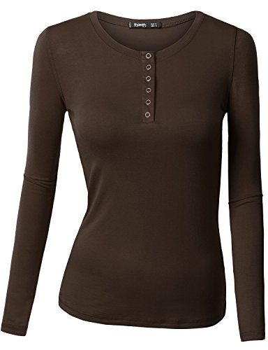Thanth-Womens-Long-Sleeve-Button-Down-Henley-Top-Basic-Shirts