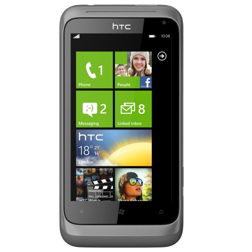 Link to HTC C110E Radar Unlocked Smartphone with Windows Phone OS 7.5, 5MP Camera, Touchscreen, Wi-Fi, GPS–No Warranty (Metal Silver) Promo Offer