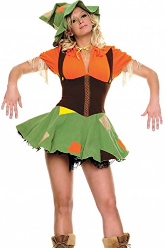 Leg Avenue 2Pc Cutie Scare Crow Costume