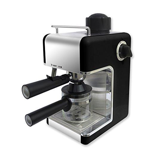 Bene Casa BC-99150 4-Cup Espresso Maker with Frother, Black Espresso Machine Reviews