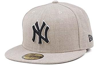 New Era 59Fifty MLB Streamliner NY Yankees Heather Baseball Cap (Size 7+1/2 / 59.6cm)