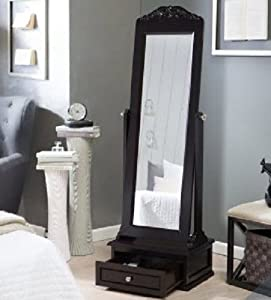 Cheval Mirror This Large Full Length Mirror Is A Free Standing Framed Floor Mirror