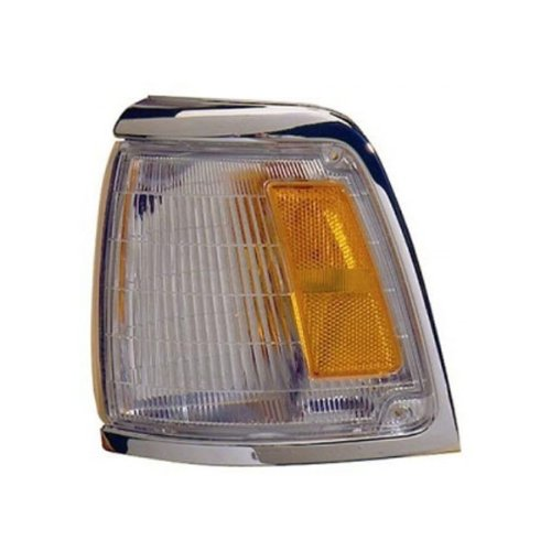 1992-1995 Toyota Pickup Truck 2Wd 4X2 (With Chrome Trim, Paint To Match) Corner Park Light Turn Signal Marker Lamp Left Driver Side (1992 92 1993 93 1994 94 1995 95)