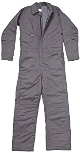 LAPCO CIFRGYDK-6XL RG 12-Ounce Duck Flame Resistant Insulated Coverall, Grey by LAPCO