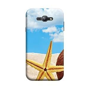 Desicase Samsung J1 Nature wit Star 3D Matte Finishing Printed Designer Hard Back Case Cover (Multicolor)