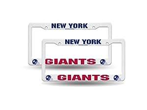 Amazon Com New York Giants Nfl Raised Lettering White