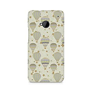 TAZindia Printed Mobile Hard Back Case Cover For HTC One M7