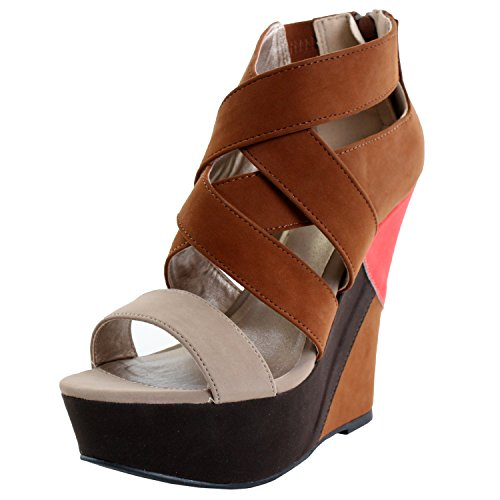 High Wedge Sandals