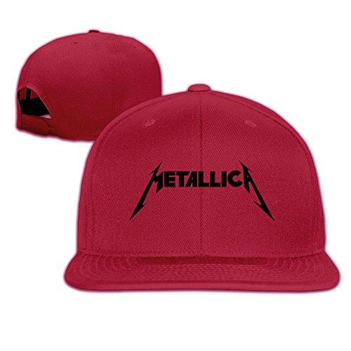 hittings-metallica-wordmark-hip-pop-custom-unisex-adjustable-baseball-snapback-hip-hop-cap-hat-white