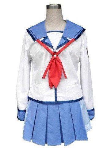 Angel Beats - Yuri Nakamura Uniform Cosplay Costume Version 02