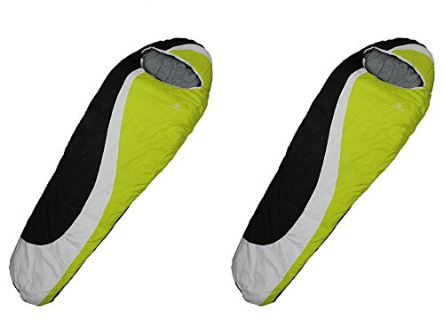 Tahoe Gear Island Peak 200 Camping Mummy 44 Degree Sleeping Bag (Set of 2) (Island Peak Sleeping Bag compare prices)