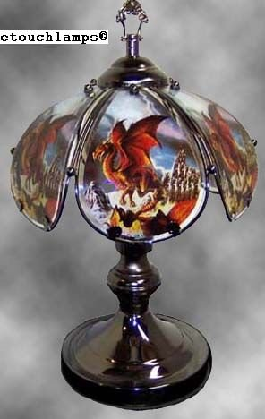 14 Inch Dragon Touch Lamp II