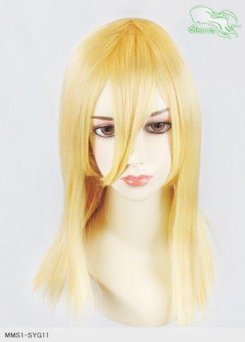 スキップウィッグ 魅せる シャープ 小顔に特化したコスプレアレンジウィッグ フェアリーミディ レモンキャンディ