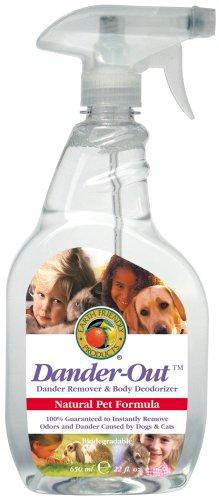 how to clean pet dander