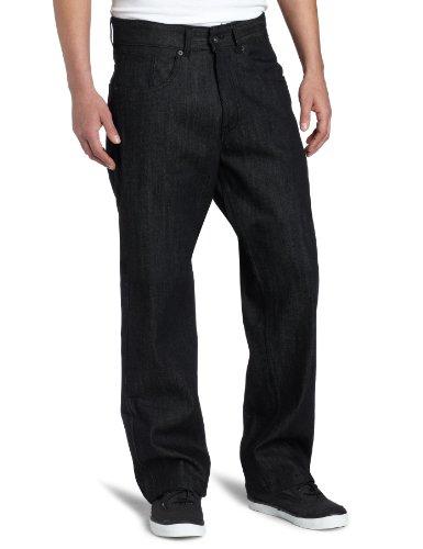 Rocawear Men's Basic Jean, Raw Black, 38