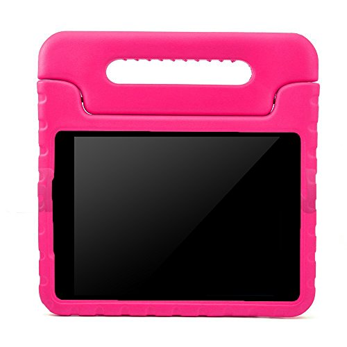 BMOUO Samsung Galaxy Tab A 7.0 inch Kids Case - EVA ShockProof Case Light Weight Kids Case Super Protection Cover Handle Stand Case for Kids Children for Samsung Galaxy TabA 7-inch Tablet - Rose (Samsung Galaxy Tablet 4 7in Case compare prices)