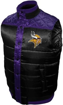 NFL Mens Minnesota Vikings Polar Puffer Vest by MTC Marketing, Inc
