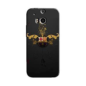 FC CLUB BACK COVER HTC ONE M8