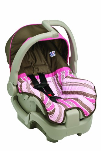 infant seat for car evenflo discovery 5 infant car seat pink georgia stripe child seats for car. Black Bedroom Furniture Sets. Home Design Ideas