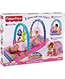 Fisher Price - Pink Ocean Wonders 'Kick & Crawl' Baby Gym - Play Mat / Tunnel (Age: Birth+)