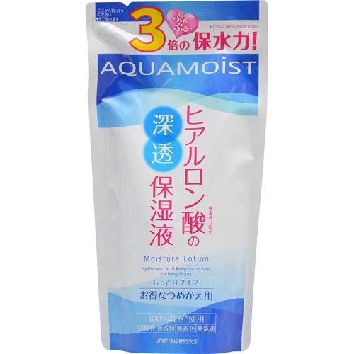 アクアモイスト 保湿化粧水 つめかえ 180ml