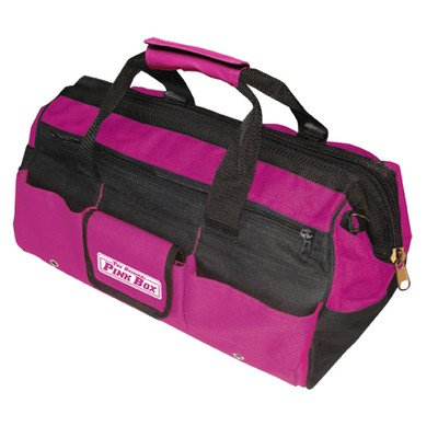 More The Original Pink Box PB16TB 16-Inch Tool Bag- Pink