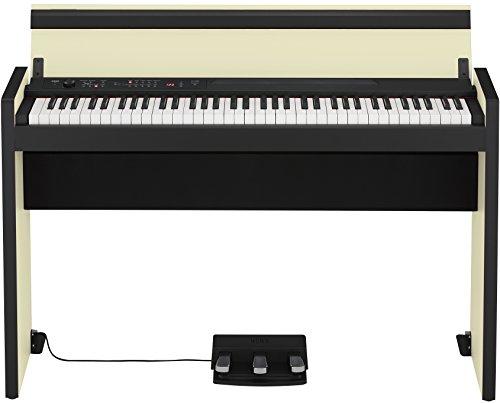 KORG コルグ 横幅もコンパクト73鍵盤 スタイリッシュ・デジタルピアノ LP-380-73 クリーム・ブラック